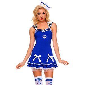Sailor Girl Mini Dress Halloween Costume